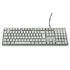 TECLADO XSLIM PS2 CREME TC00024ML